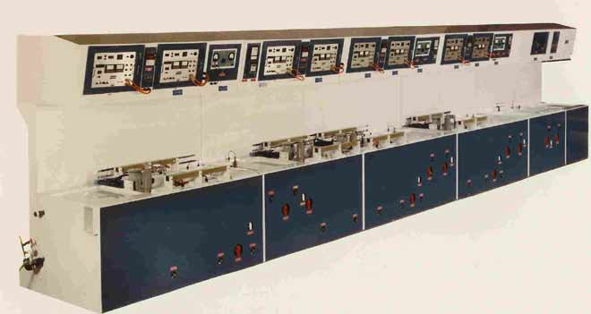 Automated Electro Plating Line