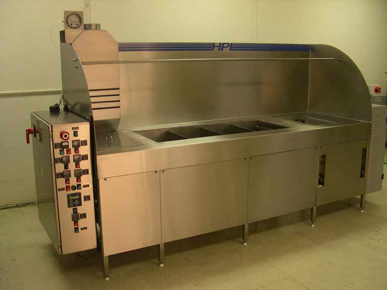 Automated passivation systems and equipment