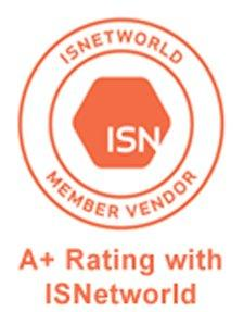 A+ Rating in ISNetworld