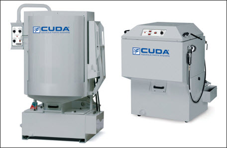Cuda industrial parts washers