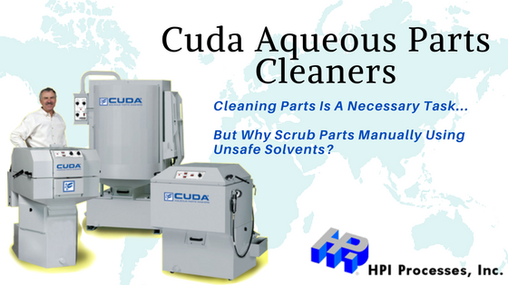 Cuda Aqueous Parts Cleaners
