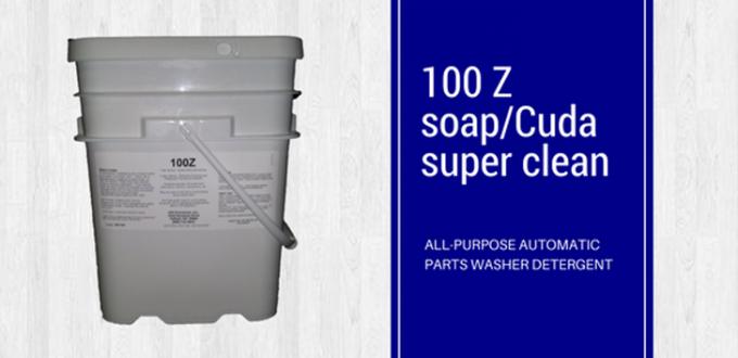 100 Z soap-Cuda super clean