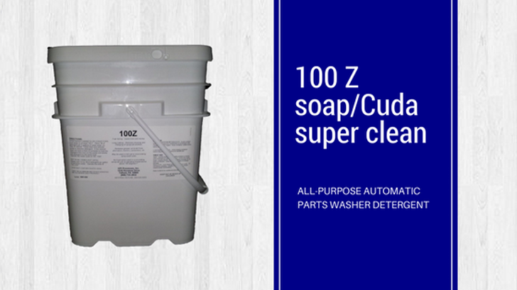 100 Z Soap for Machine Parts Cleaning