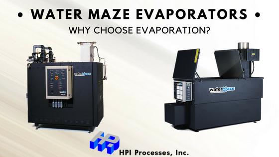 Water Maze Evaporators
