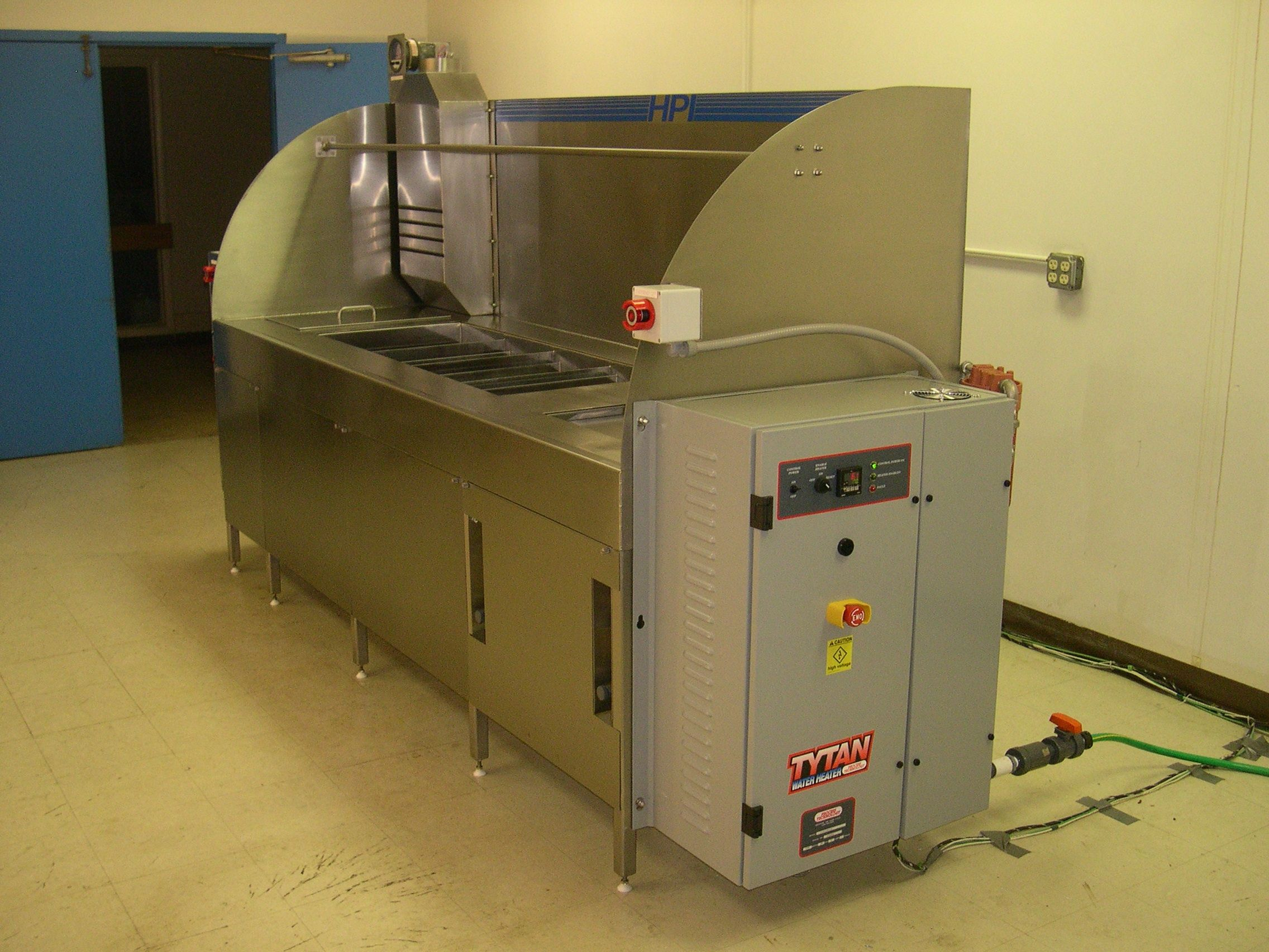 Passivation Process Benches/Tank Systems